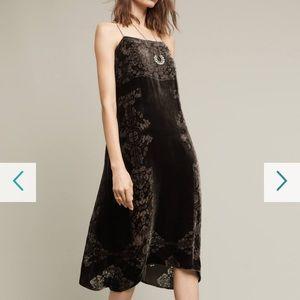 Satin Anthro Dress